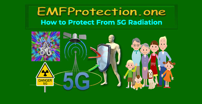 how to protect from 5g radiation